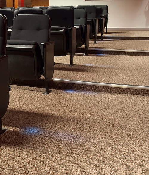alfombra comercial
